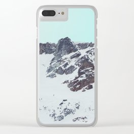 Canadian mountain scene #society6 #decor #buyart Clear iPhone Case