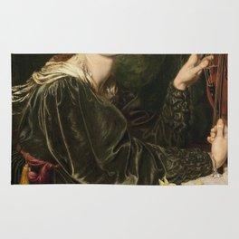 Dante Gabriel Rossetti - Veronica Veronese Rug