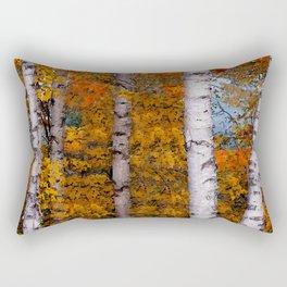 Birch Trees #2 Rectangular Pillow