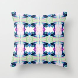 Friday Evening (Abstract Painting) Throw Pillow