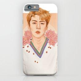 lotus [sehun exo] iPhone Case