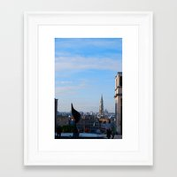 brussels Framed Art Prints featuring Brussels by Bethany O'Meara