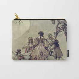"""The Fairies Ascent"" by A. Duncan Carse Carry-All Pouch"