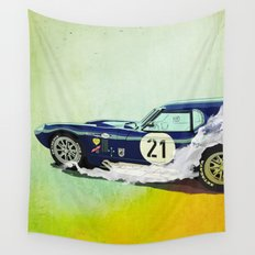 Daytona Coupe Wall Tapestry