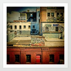 A View From The Bridge Art Print