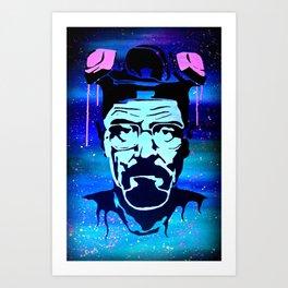Heisenbeg Art Print