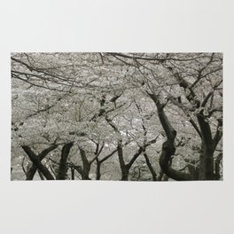 """Crab Apple and Sakura"" Rug"