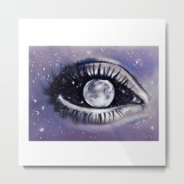 moony eye Metal Print