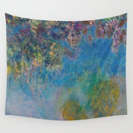 Wisteria by Claude Monet Wall Tapestry