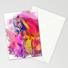 Painterly Animal - Horse 1 Stationery Cards