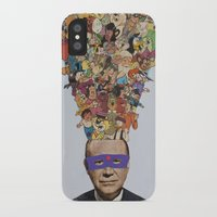 cartoons iPhone & iPod Cases featuring toons by Canson City