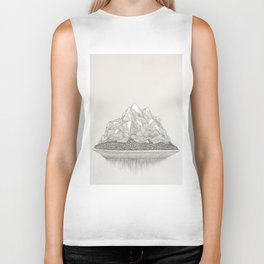 The Mountains and the Woods Biker Tank