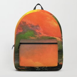 12,000pixel-500dpi - Ivan Aivazovsky - The Ninth Wave - Digital Remastered Edition Backpack