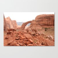 utah Canvas Prints featuring Utah by prism POP