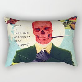 What Is This Mad Obsession With Freedom? Rectangular Pillow