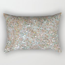 Glitter gold Rectangular Pillow
