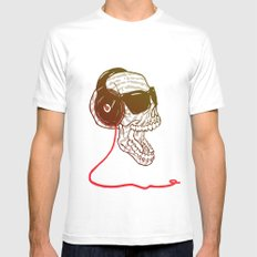 Sound Mens Fitted Tee White MEDIUM