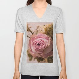 ...Beauty that never fades... Unisex V-Neck