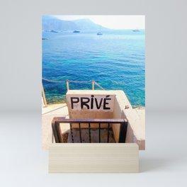 Prive svp Mini Art Print