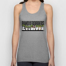 Band of Borders Unisex Tank Top