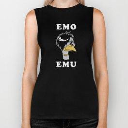 Emo Emu Biker Tank