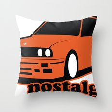 Nostalgic. Throw Pillow