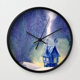New Year's Eve Wall Clock