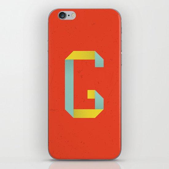 G 001 iPhone & iPod Skin