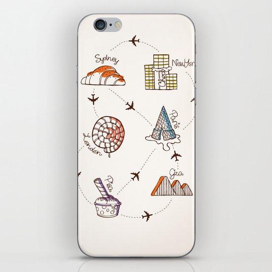 Sweet Travel iPhone & iPod Skin