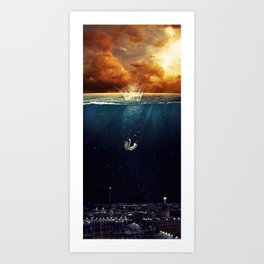 """""""Our Ends Are Beginnings"""" - Limited Print Art Print"""