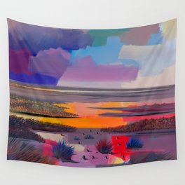 Pritty Landscape Wall Tapestry