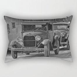 Rusty Pickup Shiny Car Rectangular Pillow