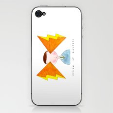 visions of radness iPhone & iPod Skin