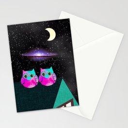 owl 209 Stationery Cards