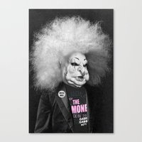 ramones Canvas Prints featuring GABBA GABBA HEY by Julia Lillard Art