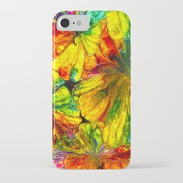 Fight or Flight ~ Adrenaline Crystals Under Polarized Light iPhone Case
