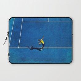 Novak Djokovic Tennis Serving Laptop Sleeve