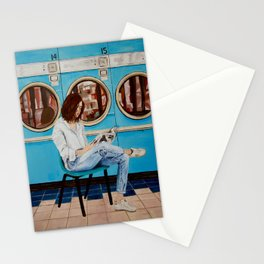 Laundry Day Blues Stationery Cards