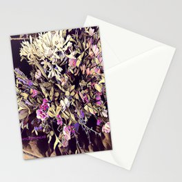 Pink and Purple for Valentines Day Stationery Cards