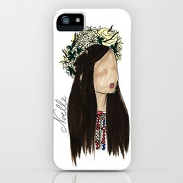 Crown of Roses iPhone Case