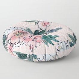 Morning Blush Floor Pillow