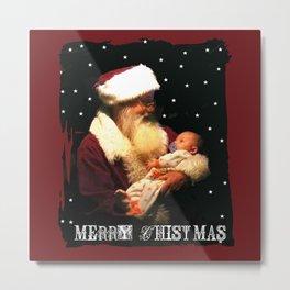 Baby's First Christmas Metal Print