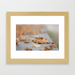 Crunch! Framed Art Print