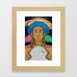 Jaden Smith knows all Framed Art Print