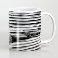 metal Mugs featuring Metal by Christine Becksted Images