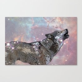 Howl at me Canvas Print