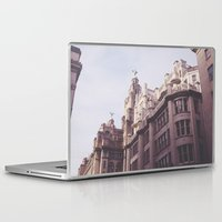 liverpool Laptop & iPad Skins featuring LIFA Of Liverpool by Caroline Jane Walsh