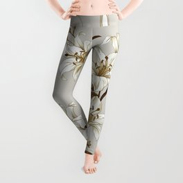 Flowers 9 Leggings