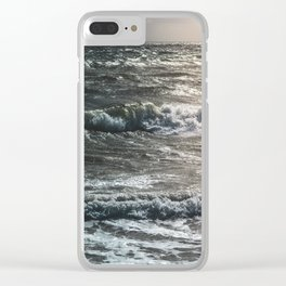 Wave After Wave Clear iPhone Case