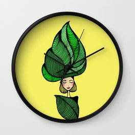 Jungle Queen Wall Clock